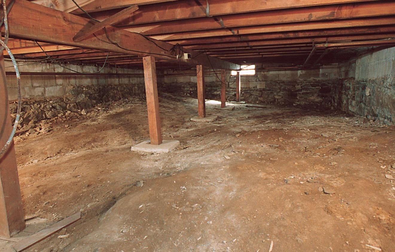 Example of CleanSpace before and after - Before Photo
