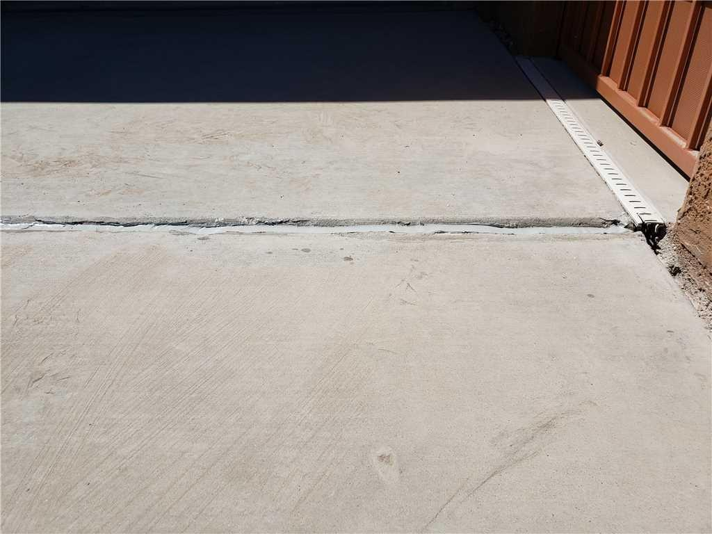 Concrete Leveled with PolyLevel in Vail, AZ - After Photo