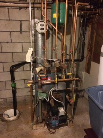 Beautiful Buderus 4-Zone Boiler with Superstor,  N. Grafton