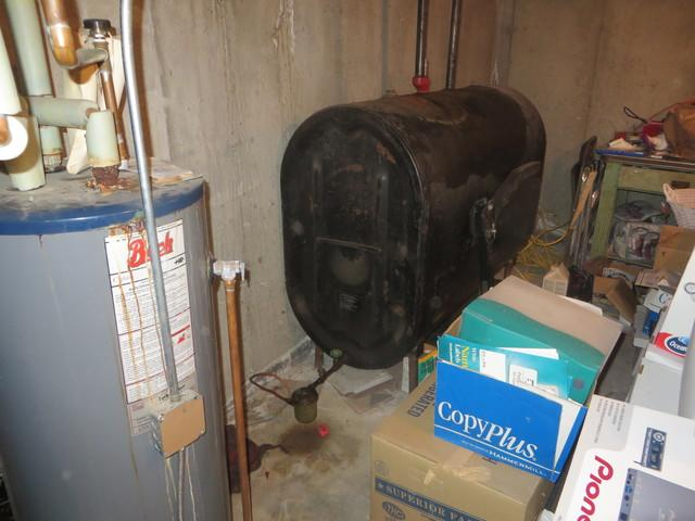 Roth  - Double Wall Tank, Leicester, MA - Before Photo
