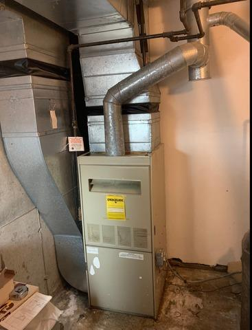 N.  Oxford - Propane Furnace Installation - Before Photo