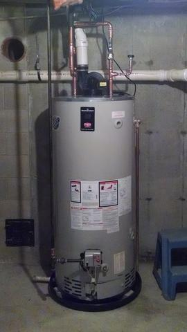 Gas Hot Water Heater Replacement - After Photo