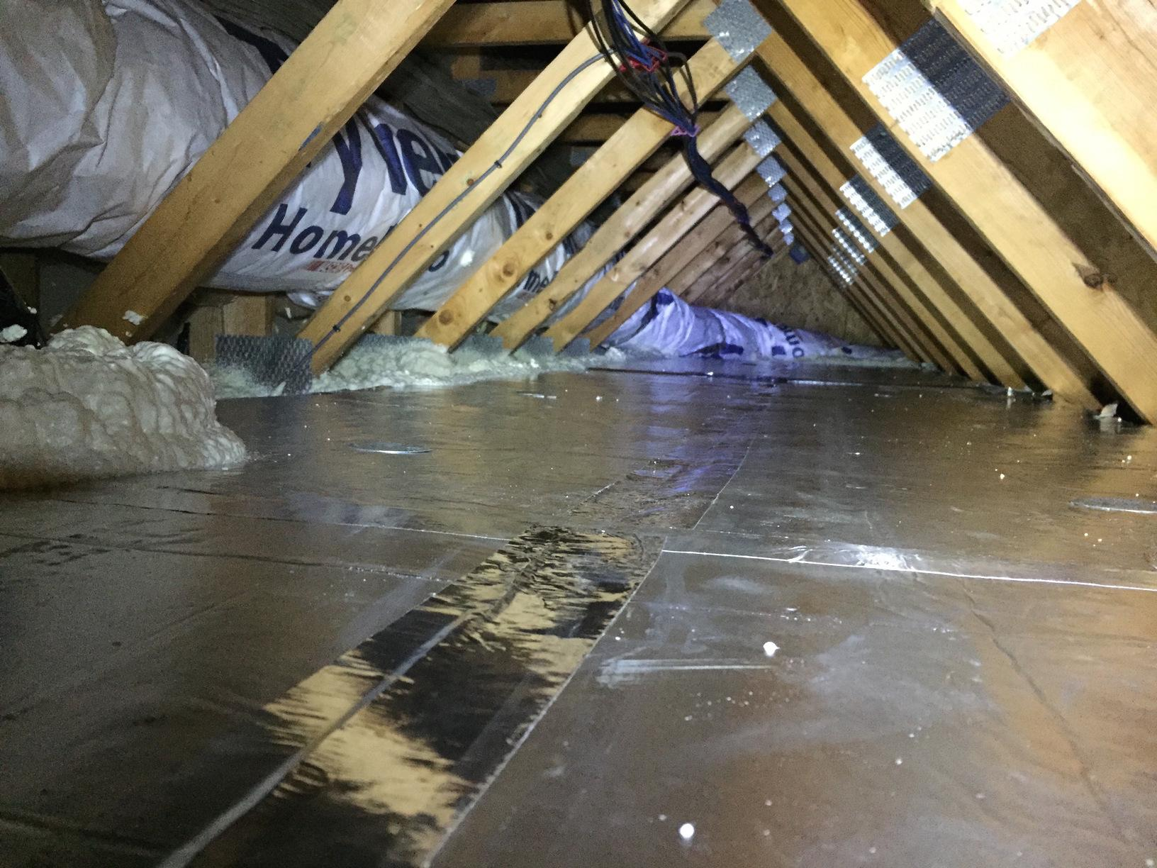 Super Deck Attic Insulation in Haddon Township, NJ - After Photo