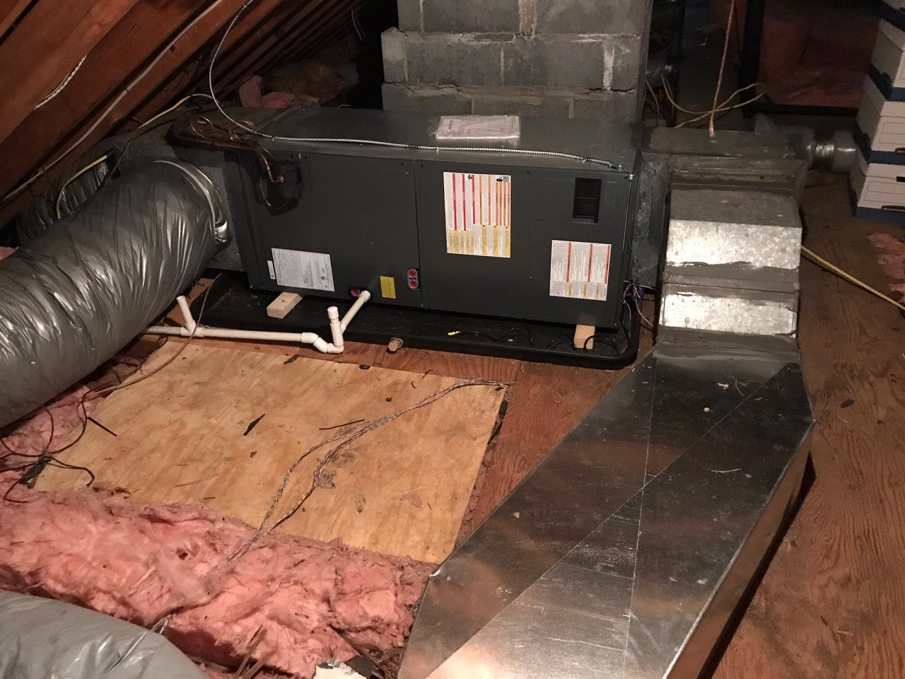 Leaky Air Handler Replacement in Medford, NJ - After Photo