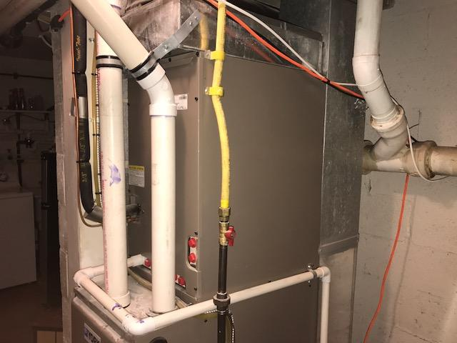Efficient Furnace Upgrade Replacement Installation in Marlton, NJ - Before Photo