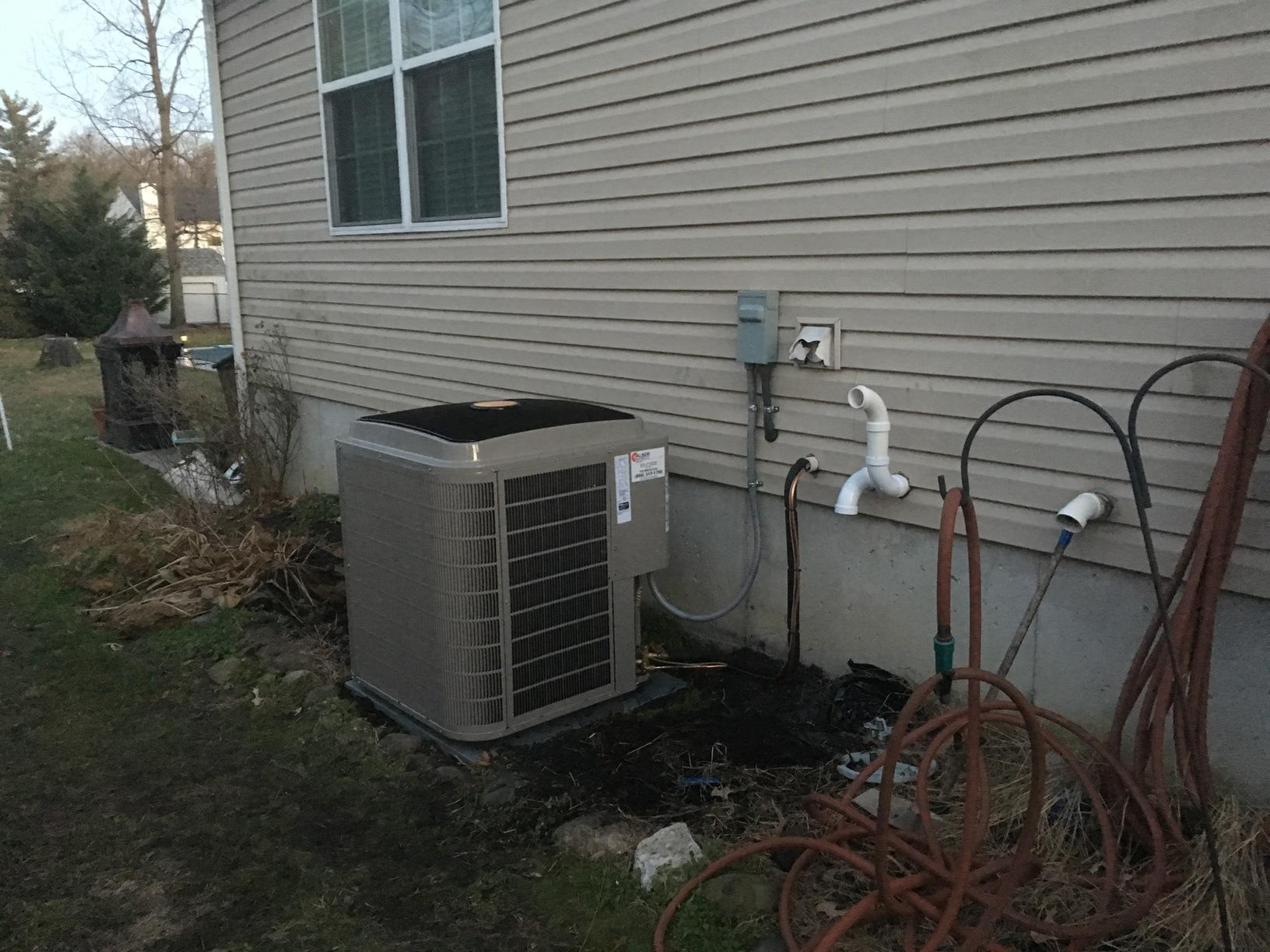 High Efficiency  Bryant Air Conditioner installed in  West Deptford, NJ - After Photo