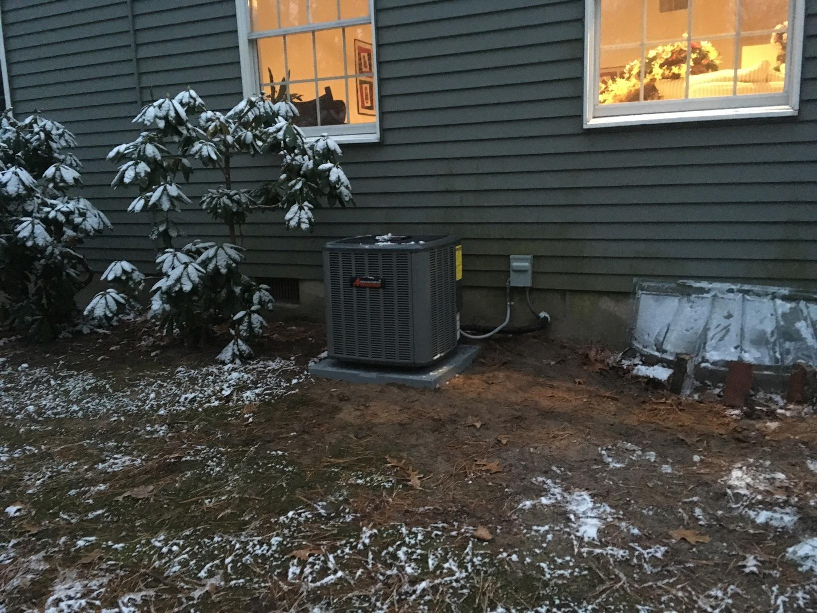 High Efficiency Amana Air Conditioning in Medford, NJ 08055 - After Photo