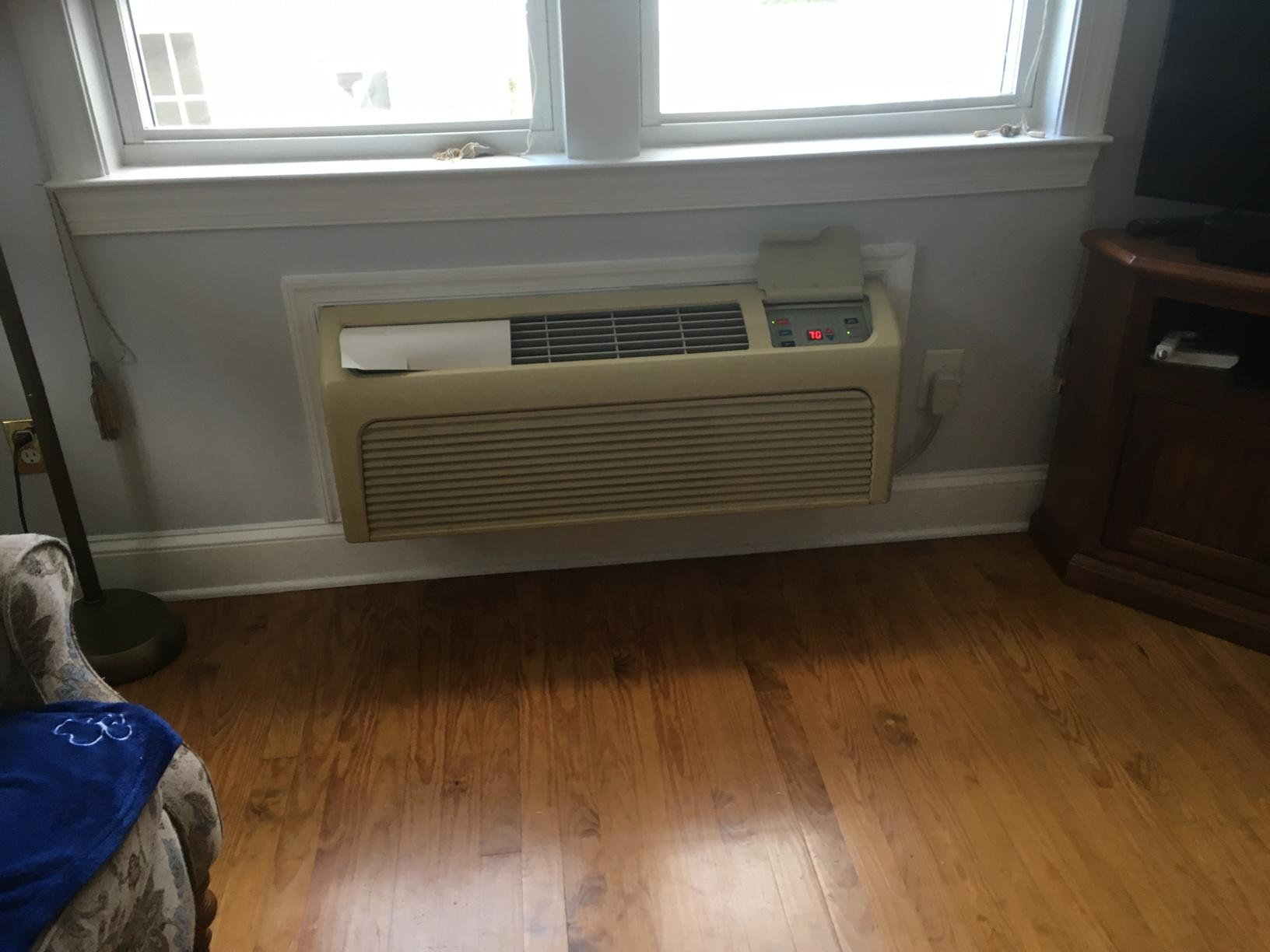 Installed a Fijitsu Mini Split Heat Pump in Oaklyn, NJ 08107 - Before Photo