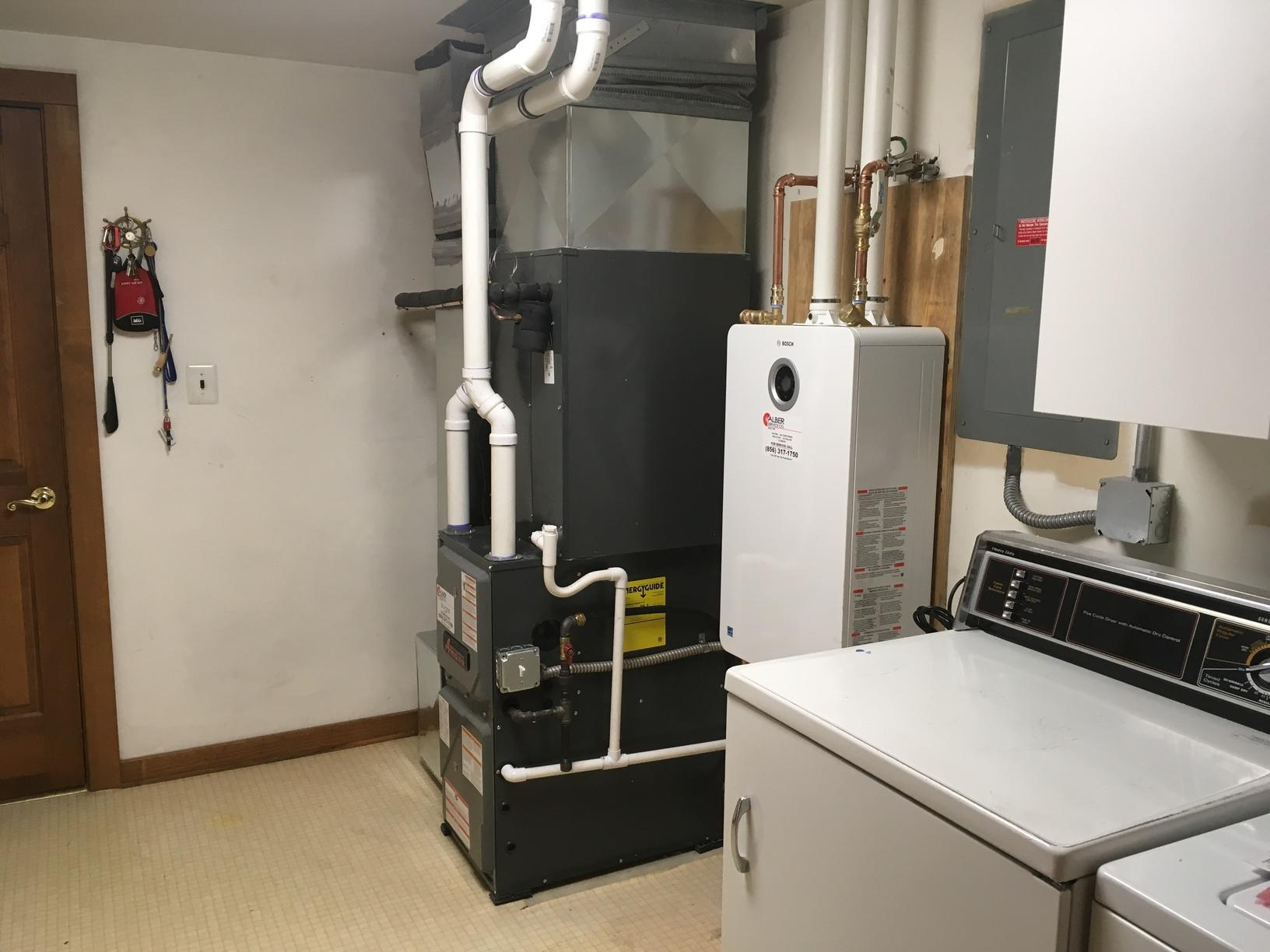 Bosch Tankless Hot Water Heater in Cherry Hill, NJ - After Photo