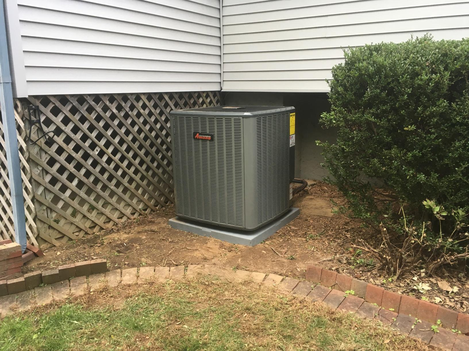 New Bryant 2 Ton 16 Seer Air Conditioner System in Moorestown, NJ - After Photo