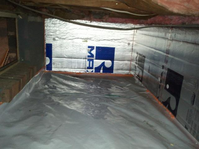 Crawl Space Insulation in Laurel Springs, NJ - After Photo