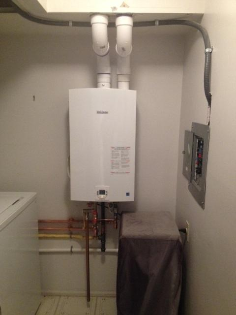 Tankless Hot Water Heater Replacement in Turnersville, NJ - After Photo