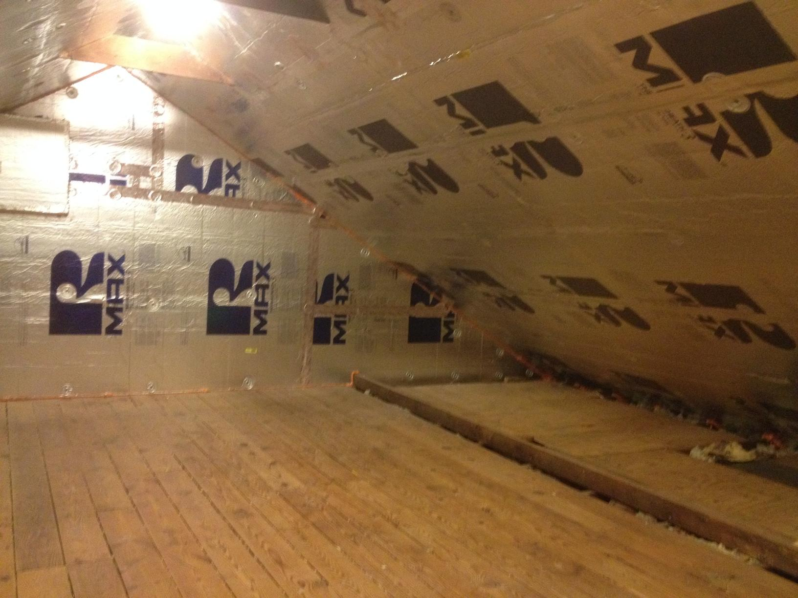 Insulating Attic in Haddon Township, NJ - After Photo