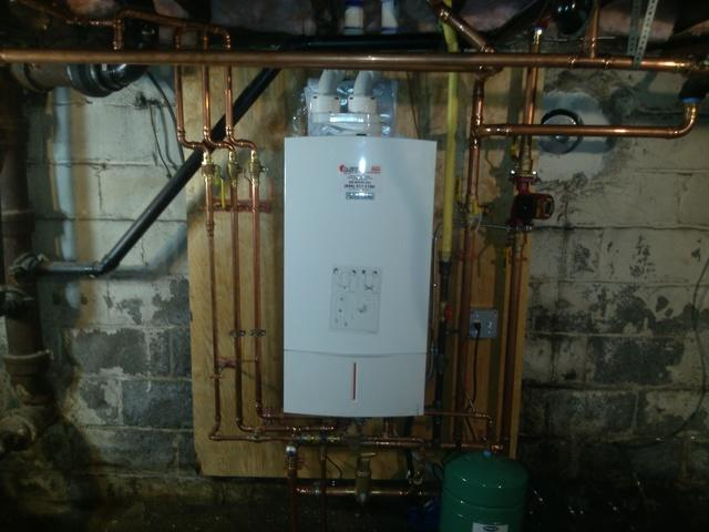 Boiler and Hot Water Heater Replacement in Collingswood, NJ - After Photo