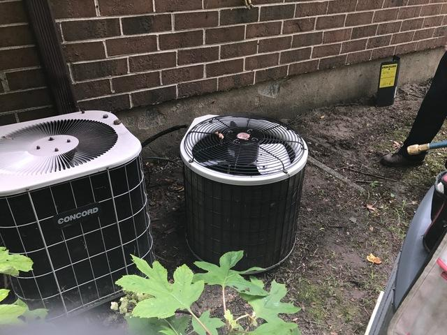 Air Conditioning Replacement in Medford, NJ - Before Photo