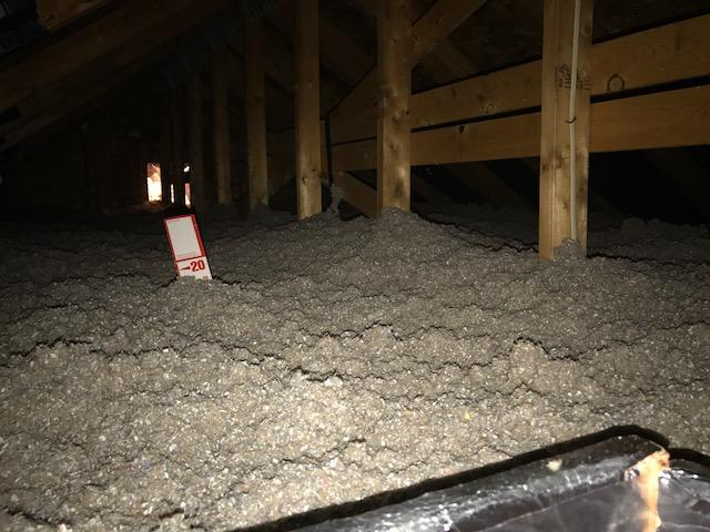 Blown in Cellulose Insulation Dramatically Improves Home Comfort in Hainesport, NJ