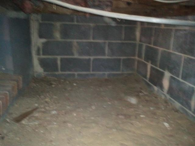 Crawl Space Insulation in Laurel Springs, NJ - Before Photo