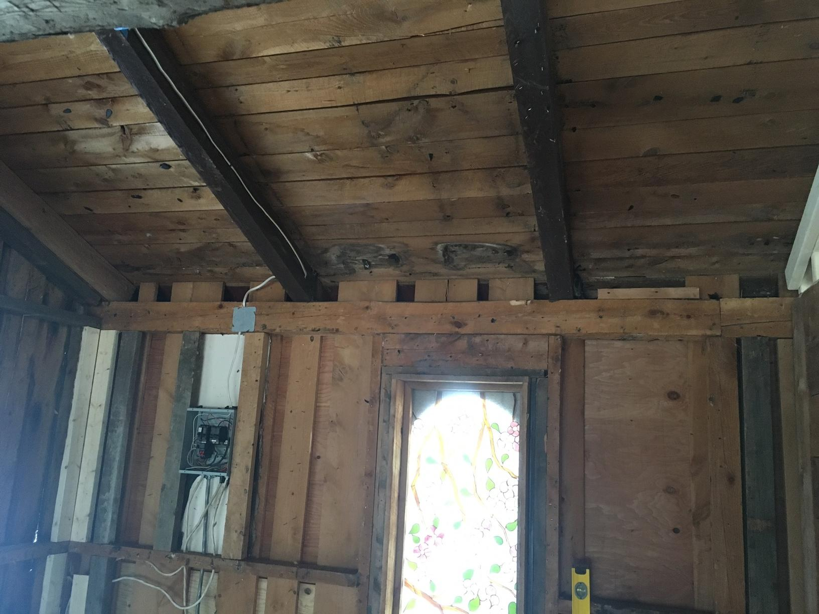 Spray Foam Insulation in Grahmsville, NY - Before Photo