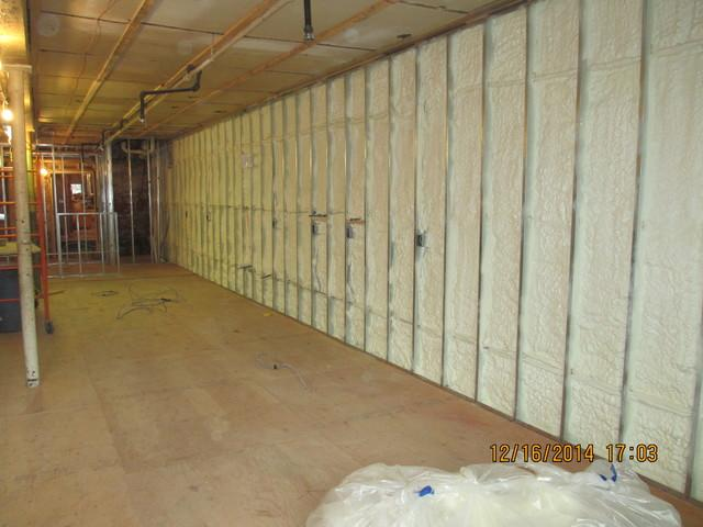 Spray foam when remodeling your home - After Photo