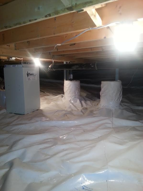 Clean Space & Sani Dry in Winnipeg, MB - After Photo