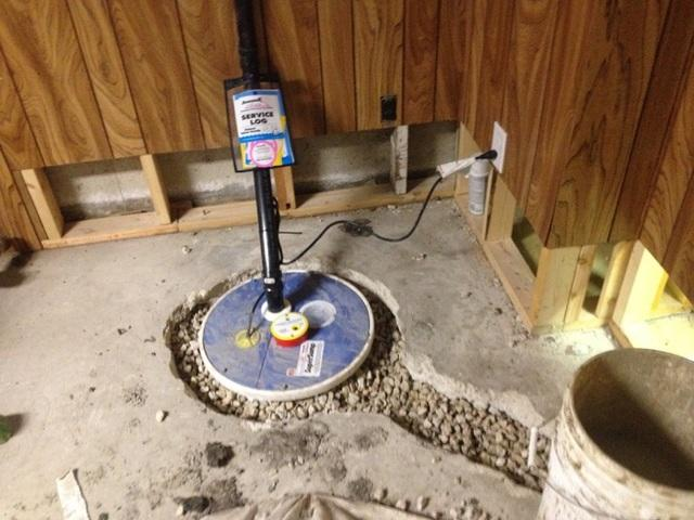 SuperSump Install in Elie, Manitoba