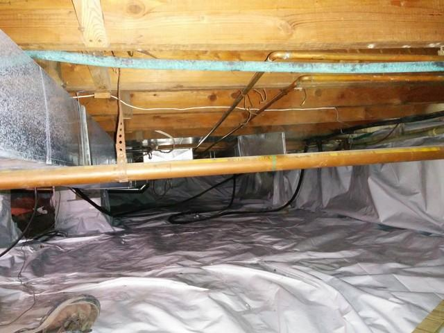 Crawl Space Encapsulation with CleanSpace