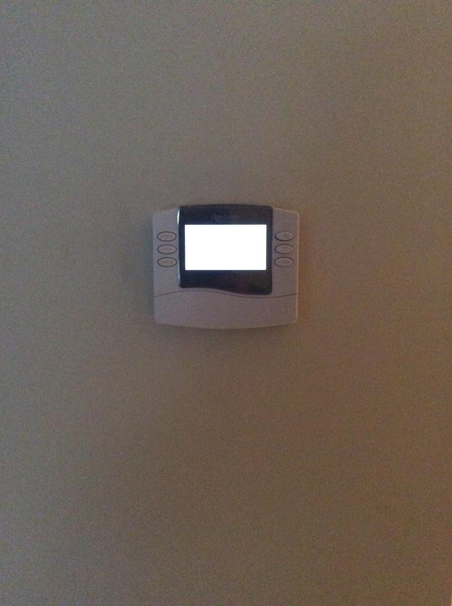Thermostat  Replacement - After Photo