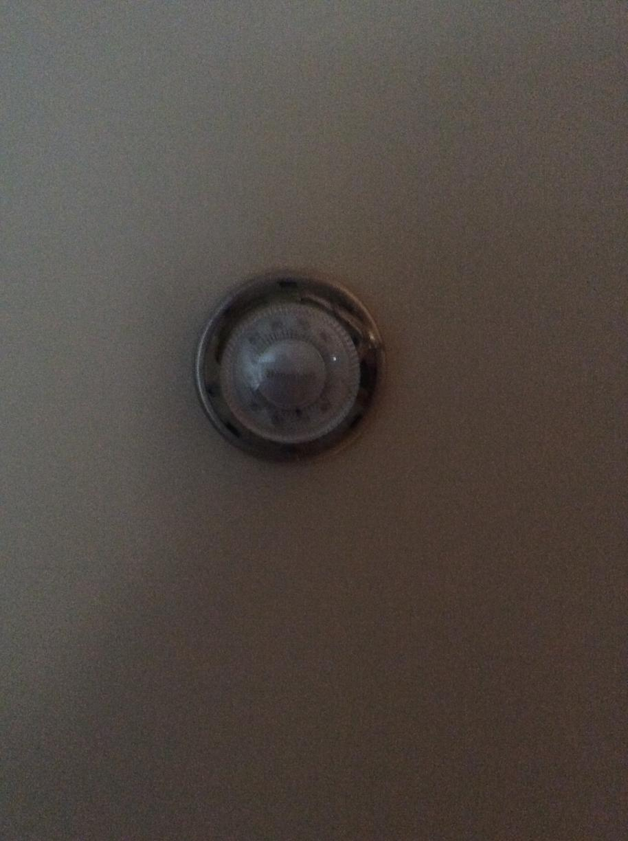 Thermostat  Replacement - Before Photo