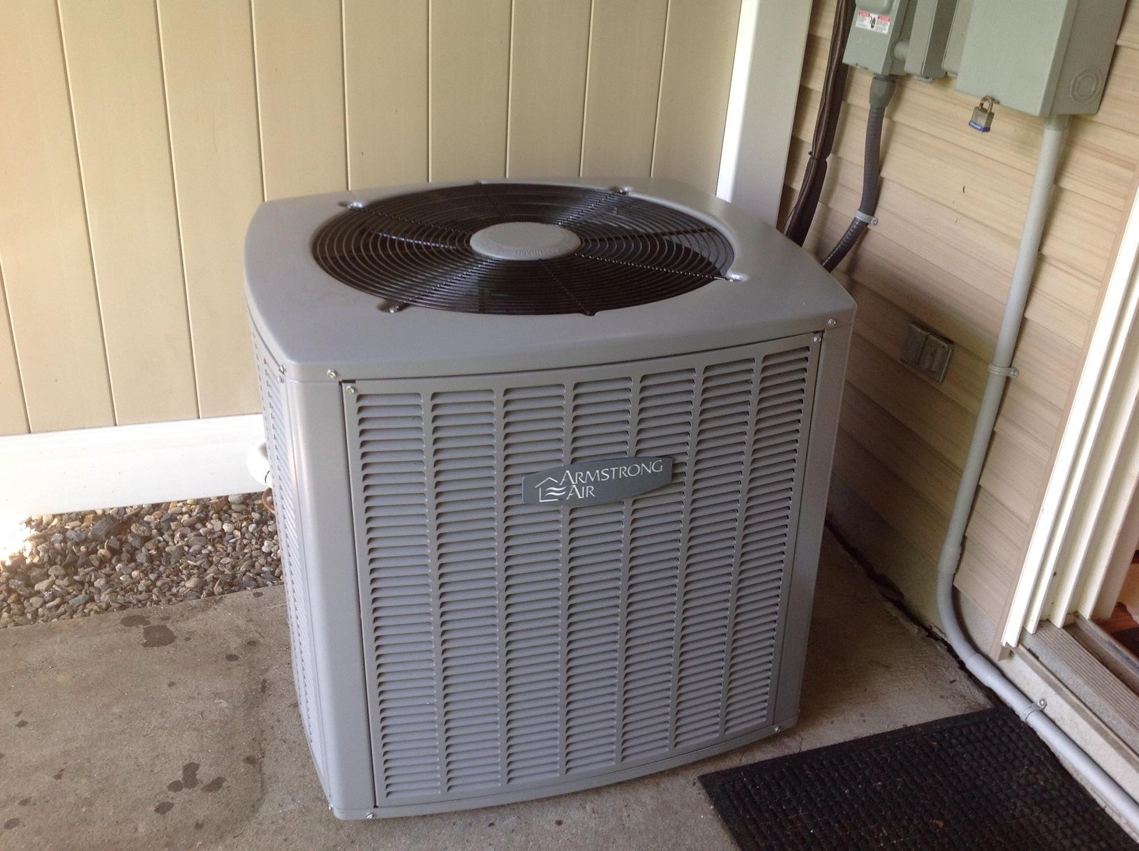 New HVAC System in Basking Ridge - After Photo