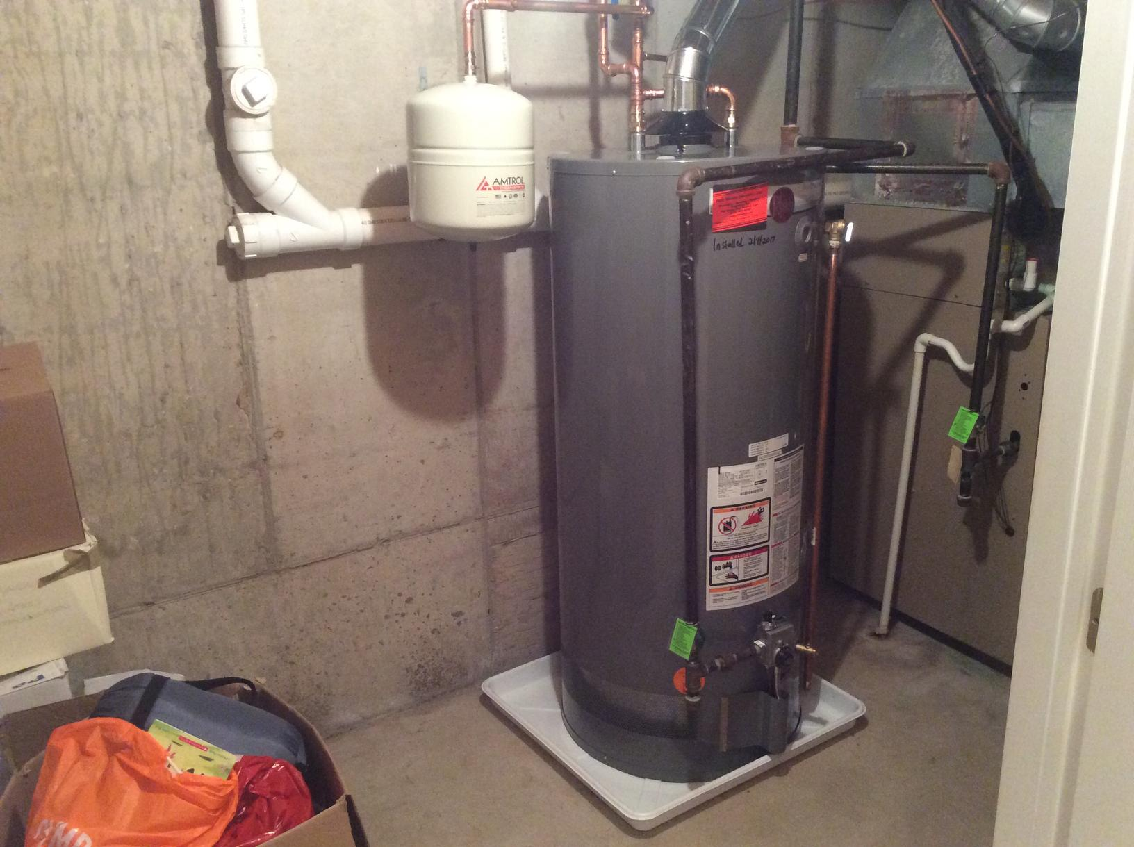 Rheem Water Heater Replacement in Basking Ridge, NJ - After Photo