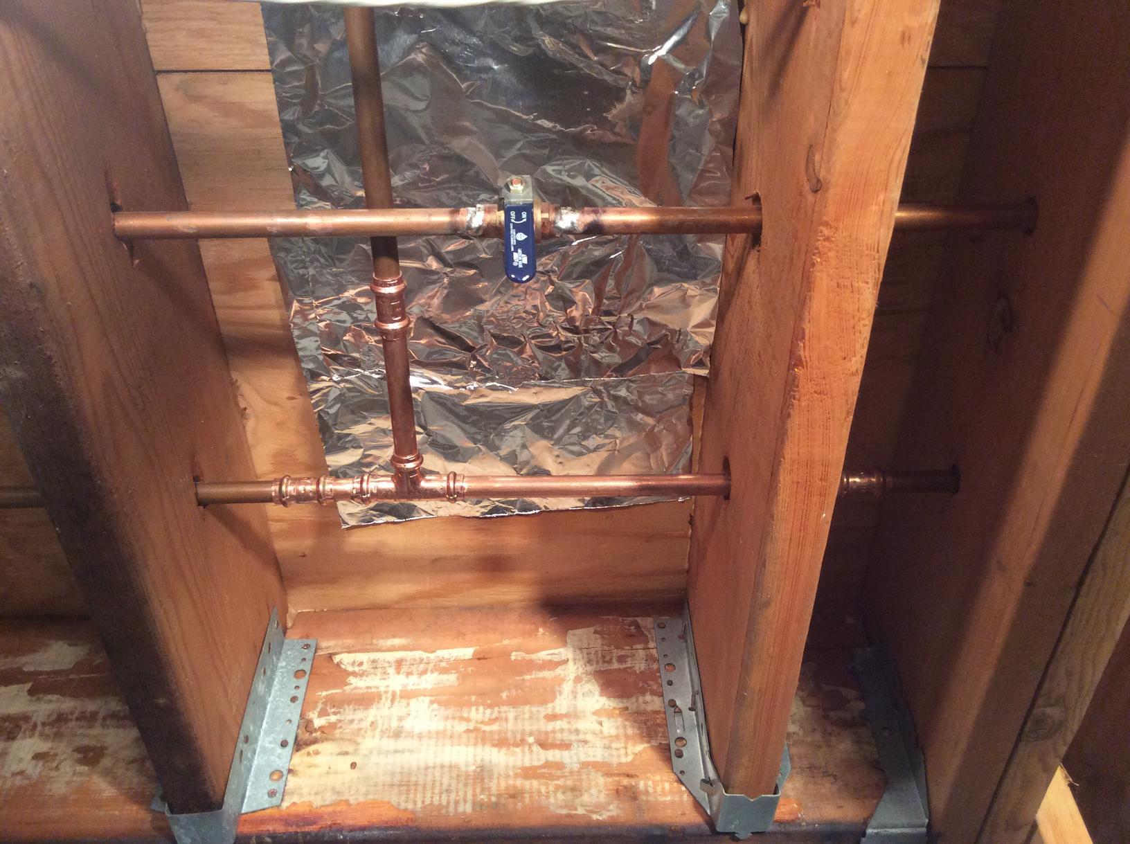 Copper Repair in Flanders, NJ - After Photo