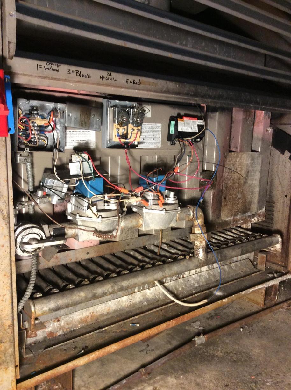 Gas Boiler Repair in Budd Lake, NJ - Before Photo