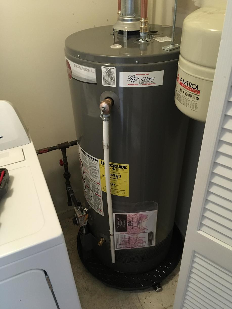 Hot Water Replacement in Netcong, NJ - After Photo