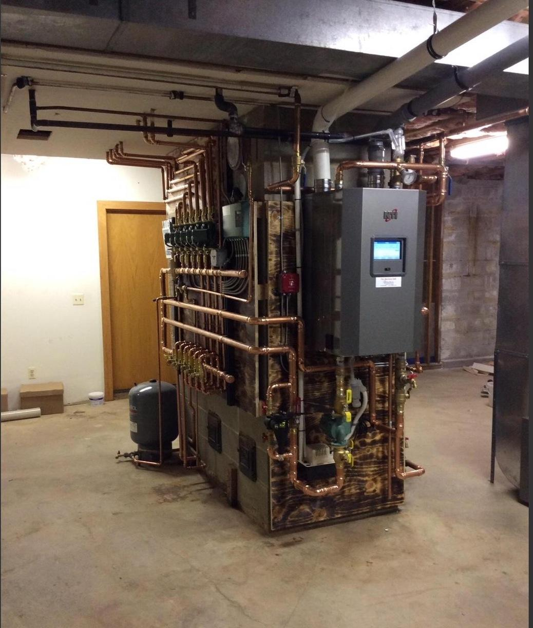 NTI Boiler Installation in Mendham, New Jersey - After Photo