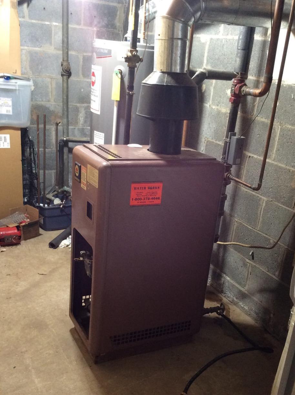 Boiler replacement in Jodi, NJ. - Before Photo