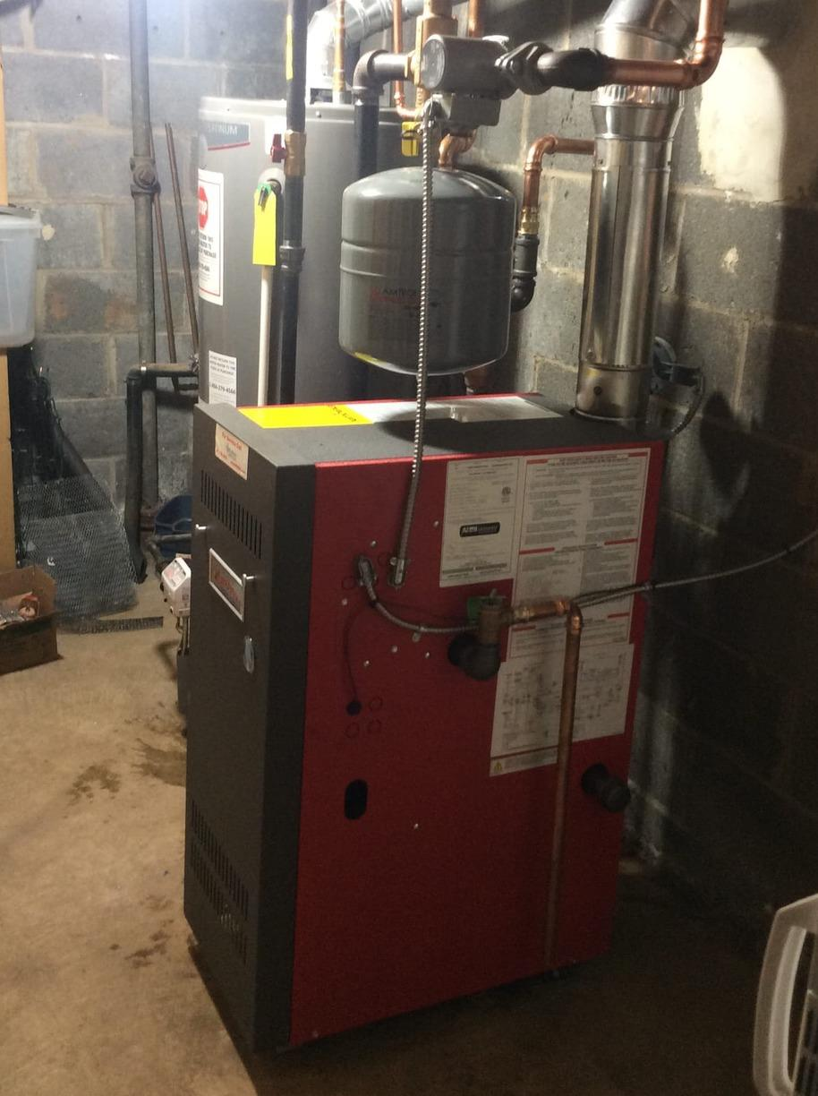 Boiler replacement in Jodi, NJ. - After Photo