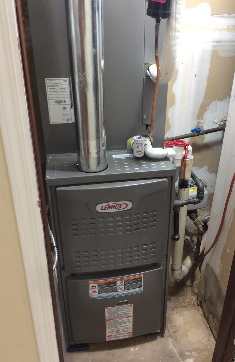 Furnace Replacement in Princeton, NJ. - After Photo