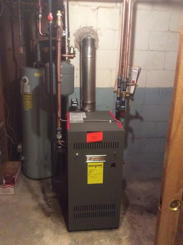 Boiler Replacement - After Photo