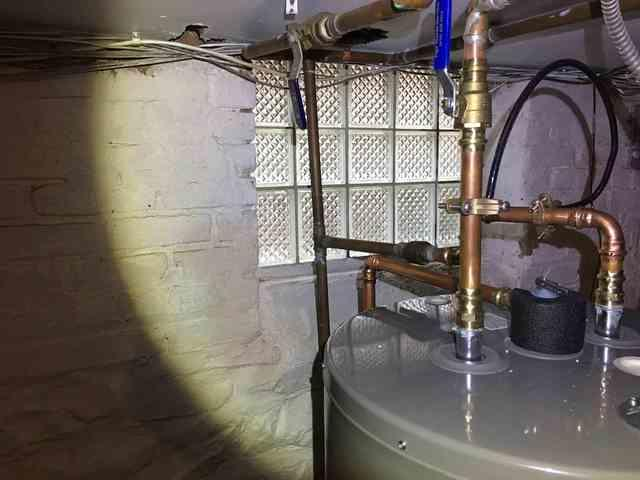 New Rheem Hot Water Heater Replacement in Mountainside