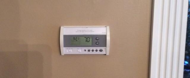 Install of New Thermostat in Succasunna