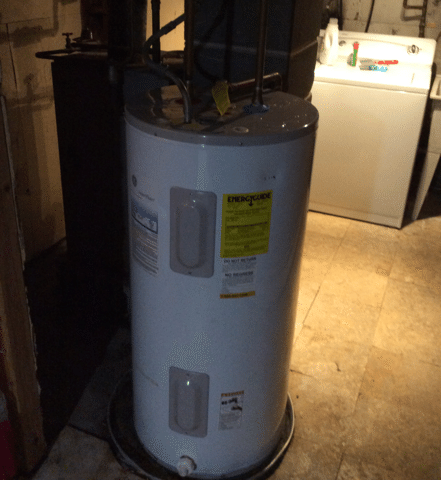 Installation of Bradford White Hot Water Heater in Landing, NJ