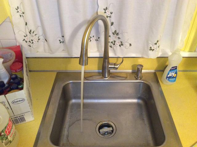 New Kitchen Faucet in Short Hills, NJ