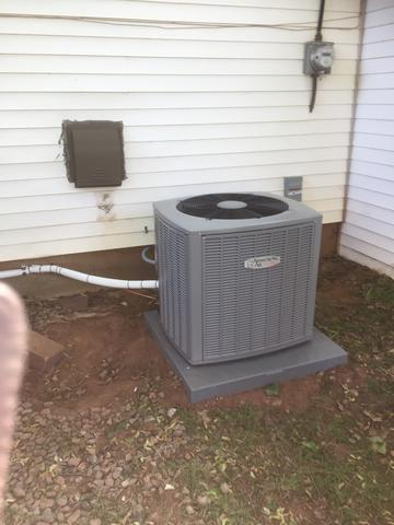 New Armstrong Air Condenser in Hillsborough, NJ - After Photo