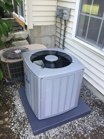 New A/C Condenser in Dover, NJ