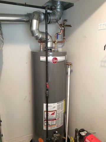 New Rheem Water Heater in Fanwood, NJ