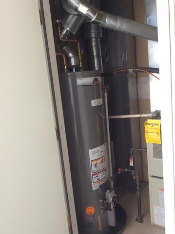 New Rheem Hot Water Heater Replacement in Mount Arlington, NJ