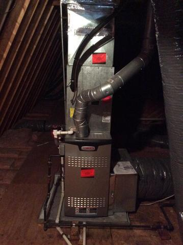 New Lennox Furnace install in Hillsborough, NJ - After Photo