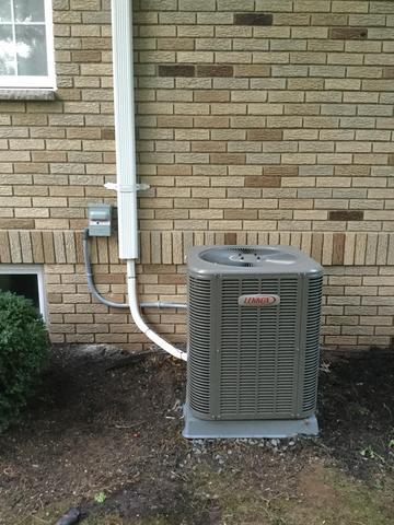 New Air Conditioning Condenser in Scotch Plains, NJ