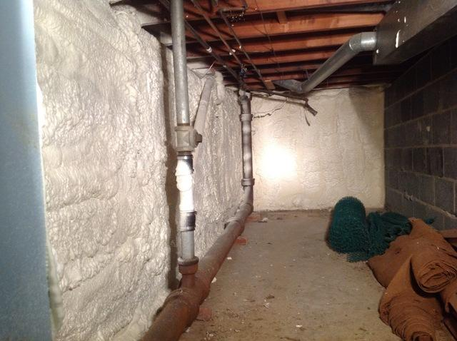 Spray Foam Insulation in Essex Fells