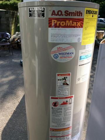 New 50 Gallon Water Heater in Springfield, NJ